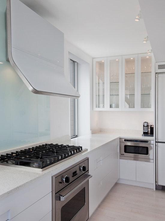 Modern Kitchen Vent Hood flat vent hood | houzz