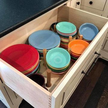 Madisonville Farmhouse Kitchen | Custom Amish Cabinets.