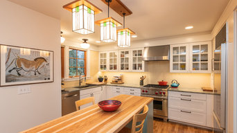 Madrona Craftsman kitchen