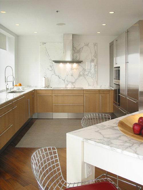 marble slab backsplash houzz