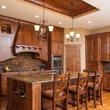 Magma Gold Granite Kitchen