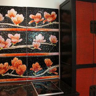 Magnolia 6 panel Kitchen Back Splash