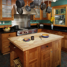 rustic kitchen by Goforth Gill Architects