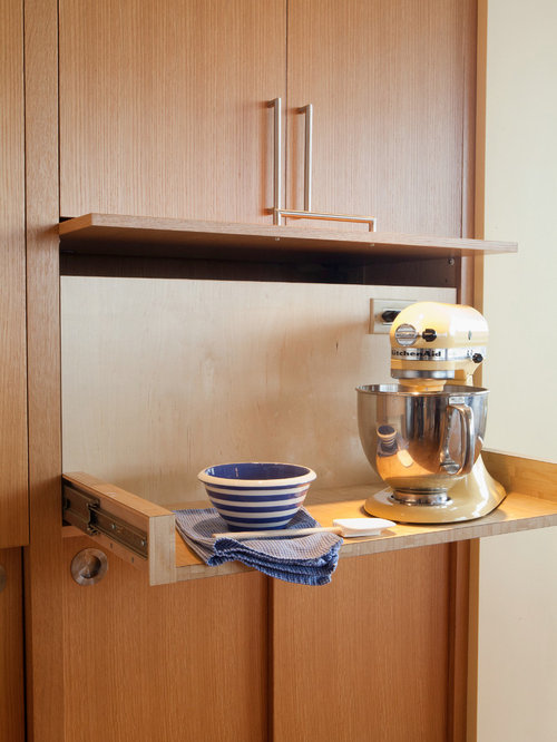 Pull-Out Kitchen Cabinets Ideas, Pictures, Remodel and Decor