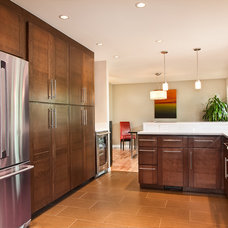 Contemporary Kitchen by Parr Cabinet Design Center - Tukwila
