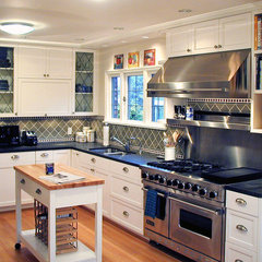 traditional kitchen by knowles ps