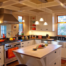 Traditional Kitchen by Sortun-Vos Architects, P.S.