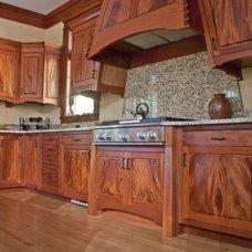 Eclectic Kitchen by Corlis Design & Construction Inc.