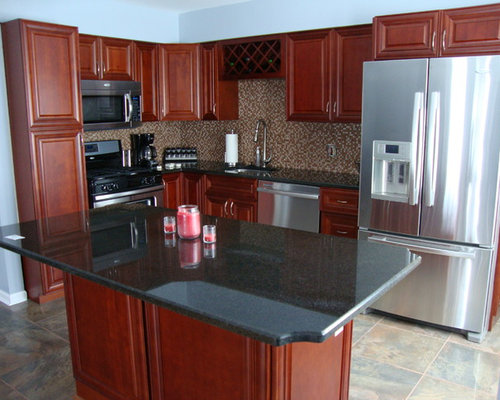 Frankie Black Sink : Affordable Traditional Kitchen Design Ideas, Renovations & Photos