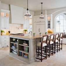 Transitional Kitchen by Bankston May Associates