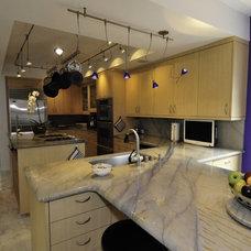 Contemporary Kitchen Main Kitchen