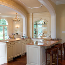 Traditional Kitchen by SEMERJIAN BUILDERS