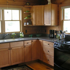 Traditional Kitchen Maine Cottage on the Point