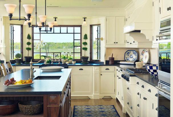 Beach Style Kitchen by Anthony Catalfano Interiors Inc.