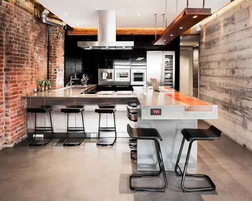 saveemail - Industrial Kitchen Ideas