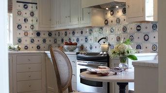 Maiolica tile kitchen
