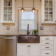 Farmhouse Kitchen by Abbey Design Center