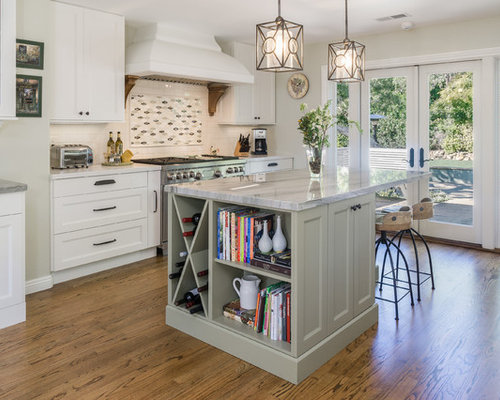 Houzz Mid Sized Kitchen Design Ideas Remodel Pictures