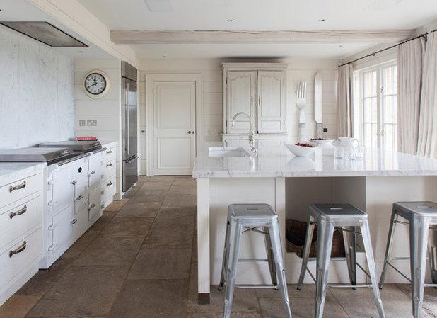 Transitional Kitchen by Stephen Graver