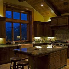 Rustic Kitchen by Cohn + Associates