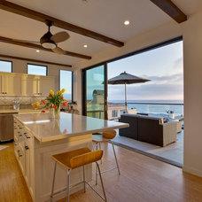 Contemporary Kitchen by David Watson Architects