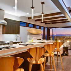 Beach Style Kitchen by Luke Gibson Photography