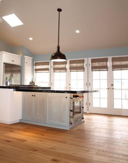 Beach Style Kitchen by Space Case Interior Design