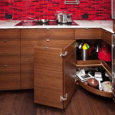 Asian Kitchen by Beach House Design & Development