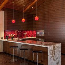 Contemporary Kitchen by Beach House Design & Development