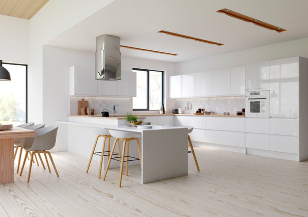 Contemporary Kitchen by Kitchen Stori