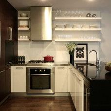 Modern Kitchen by Lisa Dreissig Design Studio