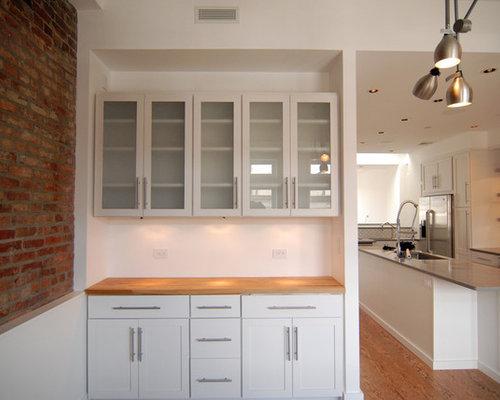 Scandinavian Kitchen Design Ideas Renovations Photos With Cork Flooring