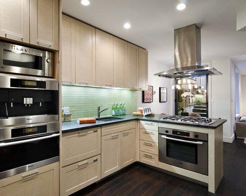 kitchen stove backsplash peninsula cooktop houzz 3202