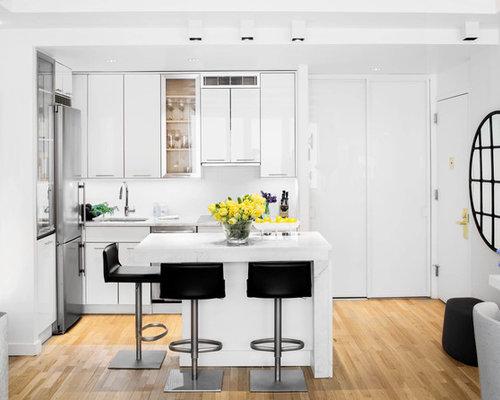 kleine offene k chen ideen design bilder houzz. Black Bedroom Furniture Sets. Home Design Ideas