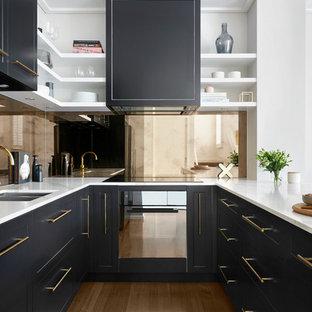 Manhattan via Melbourne kitchen