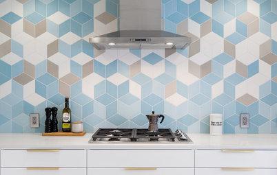 New This Week: 3 Style-Setting Kitchen Backsplashes