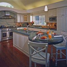 Traditional Kitchen by John Cook Kitchens