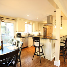 Traditional Kitchen by OakWood Renovation Experts