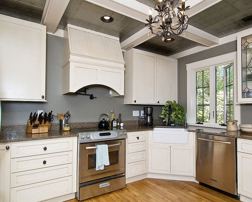 cabinets for small kitchen gray painted walls ideas pictures remodel and decor 13137