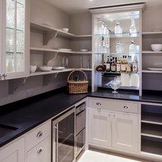 Transitional Kitchen by Yiangou Architects