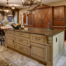 Traditional Kitchen by Morgan House Design Center