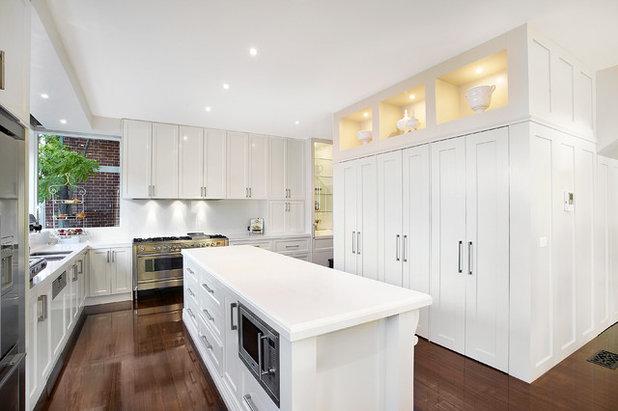 Traditional Kitchen by Bagnato Architecture & Interiors