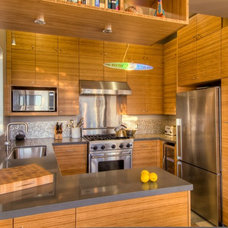 Contemporary Kitchen by Black Creek Builders