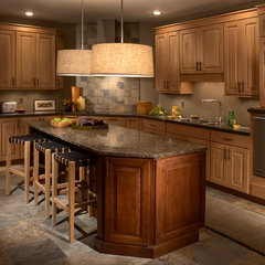 traditional kitchen cabinets by Main Line Kitchen Design