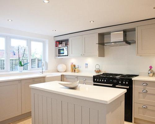 french grey kitchen design ideas renovations amp photos kitchen photos davis cabinet company