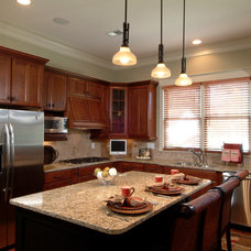 Traditional Kitchen by Peek Design Group