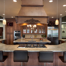 Traditional Kitchen by Cornerstone Builders of SW FL