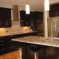 Contemporary Kitchen by Cabpro Cabinets