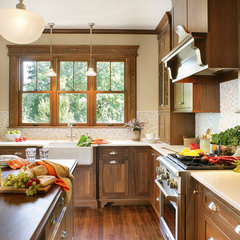 contemporary kitchen by Mountaineer WoodCraft