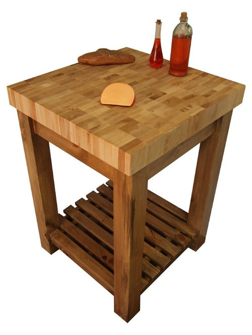 Butcher block kitchen island carts for Butcher block manufacturers